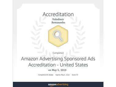Amazon PPC specialist