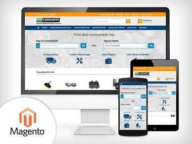 Car Parts e-commerce online store