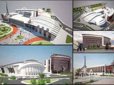 Architectural Design and Render