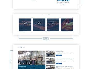 Tavanaram Website UI