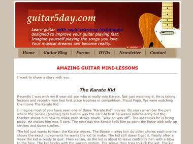 Guitar5Day.com
