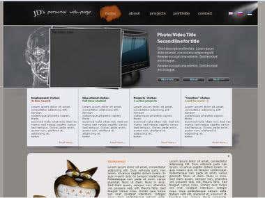 JD's Personal Webpage