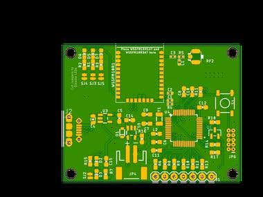 ARM Microcontroller and sigfox wssfm10r1 based IoT Device