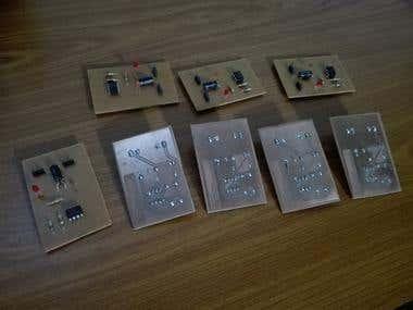 PCB Designs for a Seminar Session