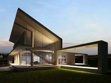 rendering by 3ds max