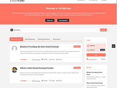 New Hosting Solutions Website