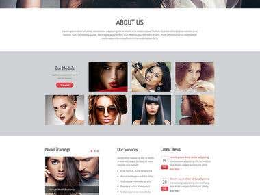 Fashion Model site
