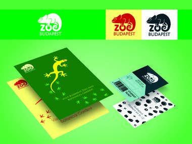 Tickets, poster and logo design