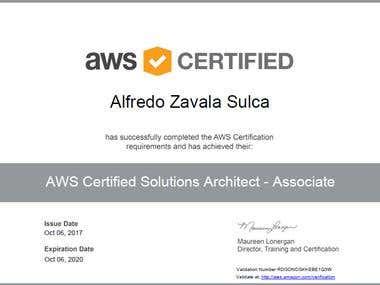 Amazon Certified Solution Architect - Associate