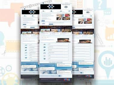 Simple App representation website