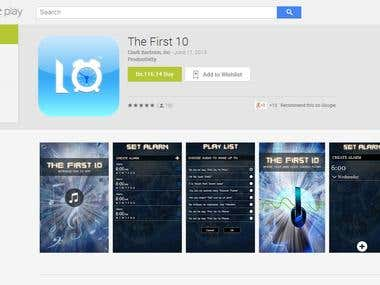 The First 10 Mobile App