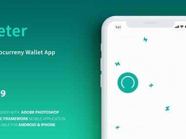 Meter-Cryptocurrency Wallet App
