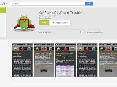 Tracking App --- Girlfriend Boyfriend Tracker