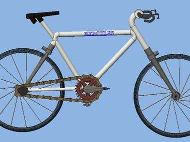 New Cycle Design For Local Vender Named as Bhart Cycle