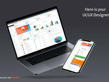 High-quality professional UI/UX Design