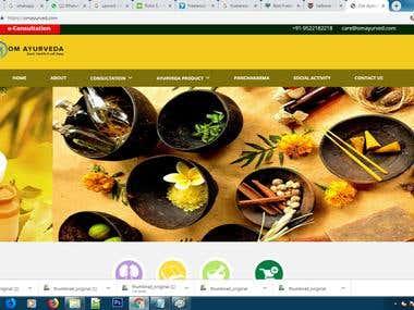 Online E-commerce website for medicine