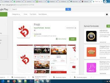 Online E-commerce Application