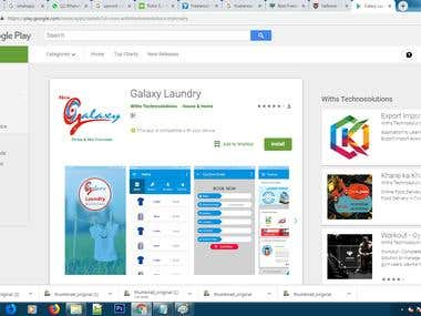 This is online Laundry Application For Dry cling Your Cloth