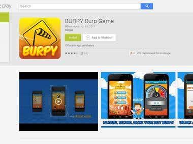 Game -- Burpy Burp