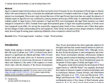 Sample of Research Article - 1