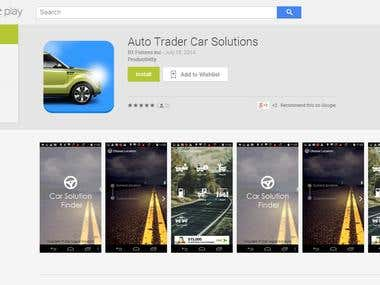 GPS Android App --- Auto Trade Car Solutions