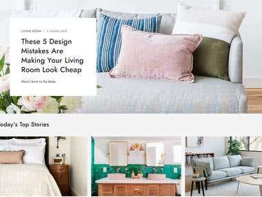 web site with laravel (e_commerce)