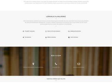 Unlu Law Office Web Design