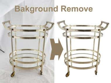 Metal Background Remove with Cliping Path