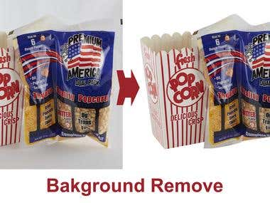 Packaging Background Remove