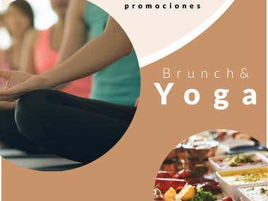 Campaña Yoga & Brunch | Post Instagram