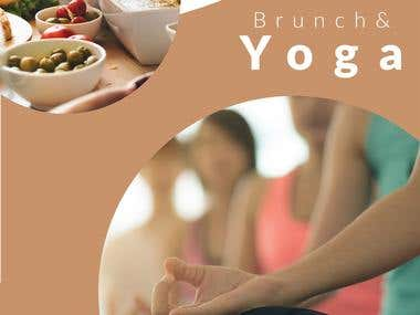 Campaña Instagram Stories Yoga & Brunch