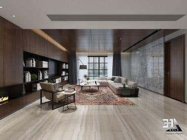 Interior Vray Rendering