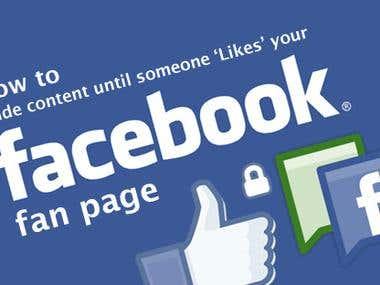 Facebook FAN,LIKE
