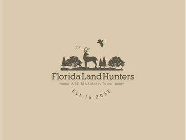 Logo for a hunting company