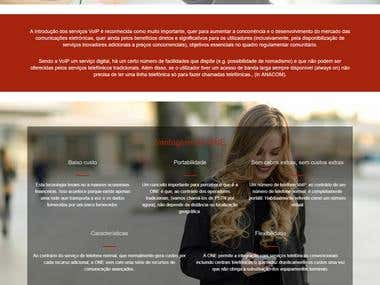 Website Development One i-Telecom