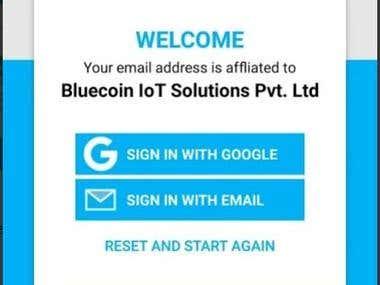 BlueCoin iOS App