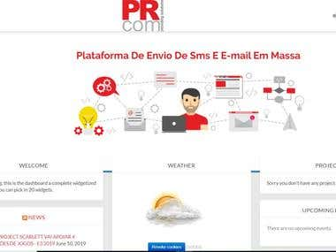 PRcom Intranet
