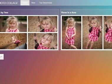 Facebook Photo Collaz Website