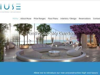 Website done in WordPress
