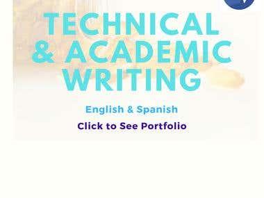 Technical & Academic Writing