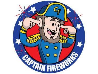Firework logo design