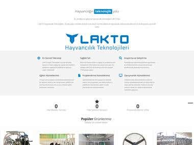 LAKTO Dairy Techonologies Website and eCommerce