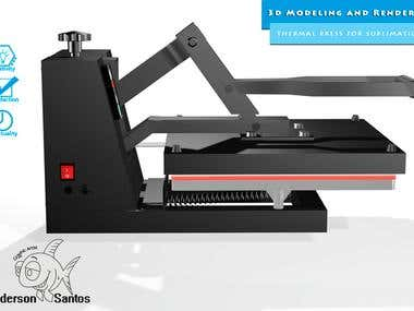 Modeling Suplimatic Thermal Press