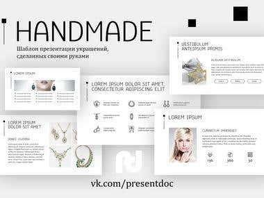 Handmade (Presentation Template)