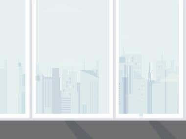 Animation ad for Al Bonyan real estate company