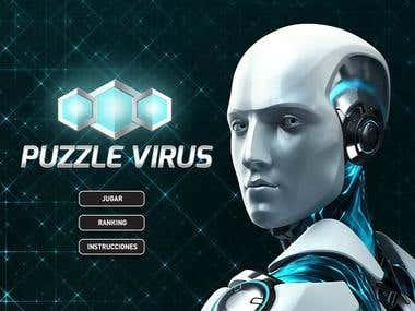 ESET Puzzle Virus - Facebook game
