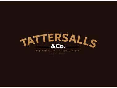 Tattersalls restaurant - complete branding