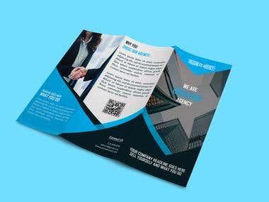 3 Folded Brochure Design