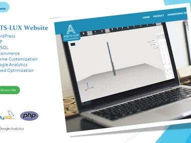 ASETS-LUX Website