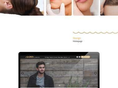 Iran-Mehr Web Design and UI